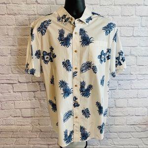🆕 Saddlebred 🌴Floral tropical Hawaiian shirt